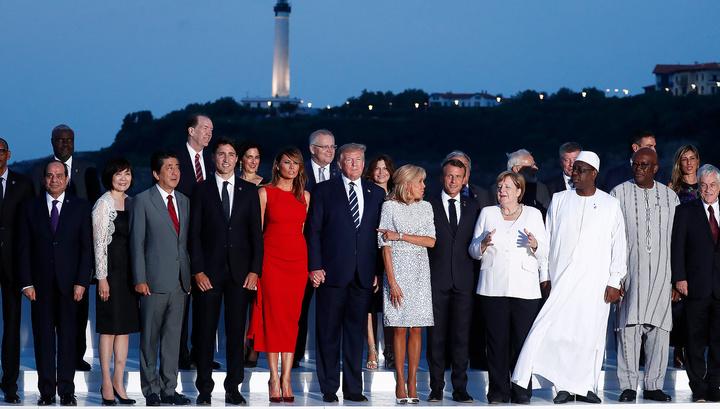 В Биаррице завершает работу саммит G7