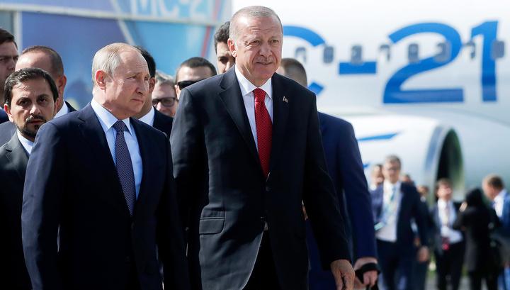 Эрдоган: Турция присмотрится к Су-35 и Су-57, если Штаты продолжат свою политику