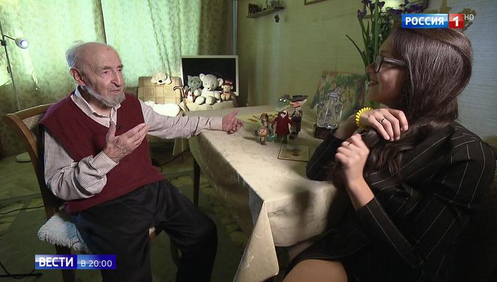 Он придумал Чебурашку и котенка Гав: 99-летний Леонид Шварцман - о прототипах мультгероев