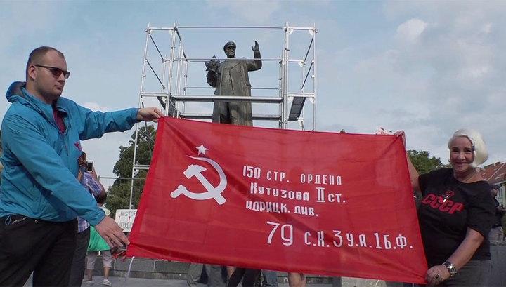 Памятник маршалу Коневу разделил пражан на два лагеря