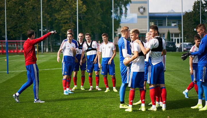 Молодежная сборная России обыграла сербских сверстников