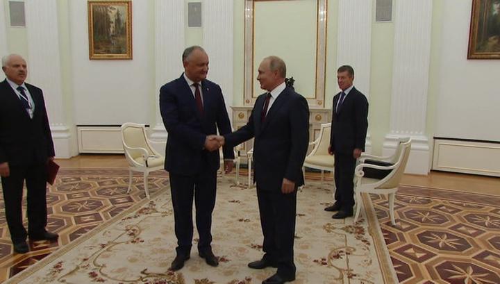 Россия и Молдавия обсудили цену на газ