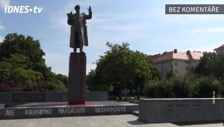 Мединский: осквернение монумента Конева - плевок Чехии в сторону собственных граждан