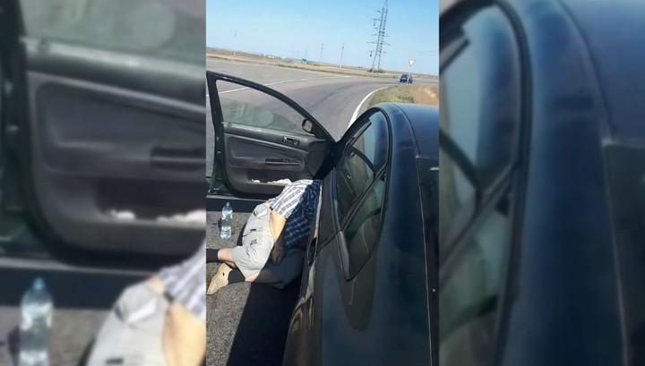 Водитель скончался на дороге под Курском, больше часа прождав скорую помощь