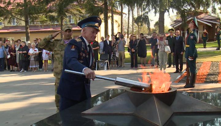 В Туле зажгли Вечный огонь в память о погибших сотрудниках Росгвардии
