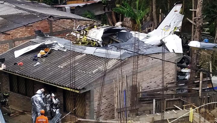 Авиакатастрофа в Колумбии: 7 погибших