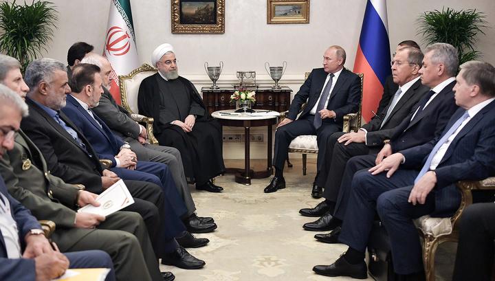 Путин: Иран внес значительный вклад в ликвидацию террористических очагов в Сирии