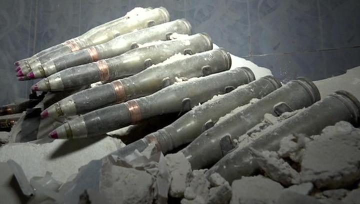 В сирийских пещерах найдены секретные бункеры боевиков