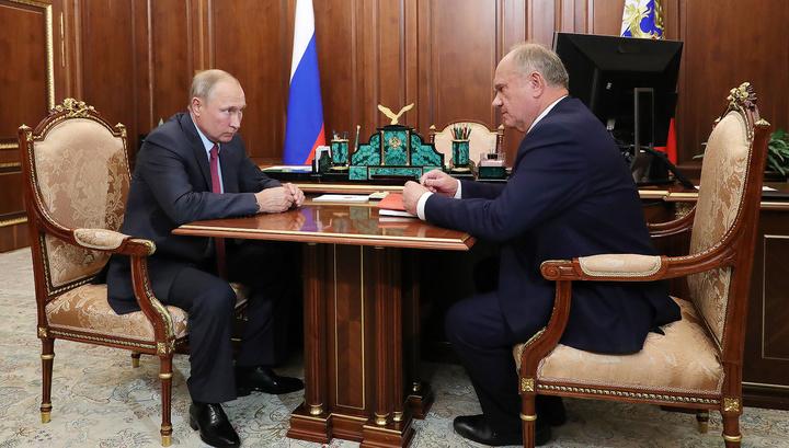 """Путин не против """"ремонта избирательной системы"""""""