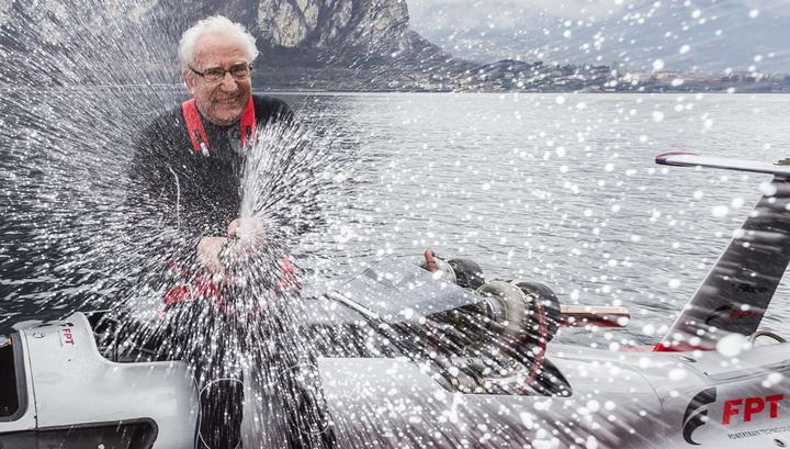 У острова Лидо на катере разбился гонщик-рекордсмен Фабио Буцци