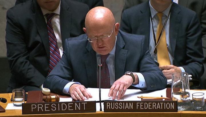 Заседание по Сирии: Небензя напомнил о требованиях Совбеза по борьбе с терроризмом