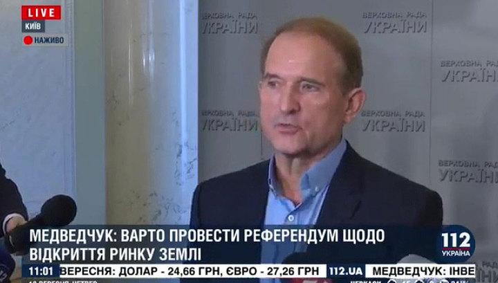 """Медведчук прокомментировал позицию Украины по поводу """"формулы Штайнмайера"""""""