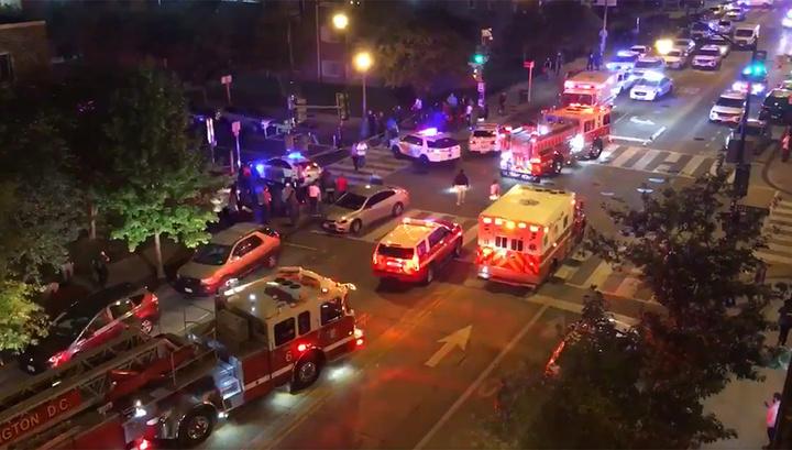 Стрельба рядом с Белым домом: один человек погиб