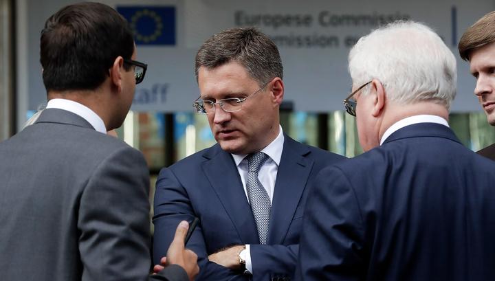 Новак: трехсторонние переговоры по газу прошли конструктивно