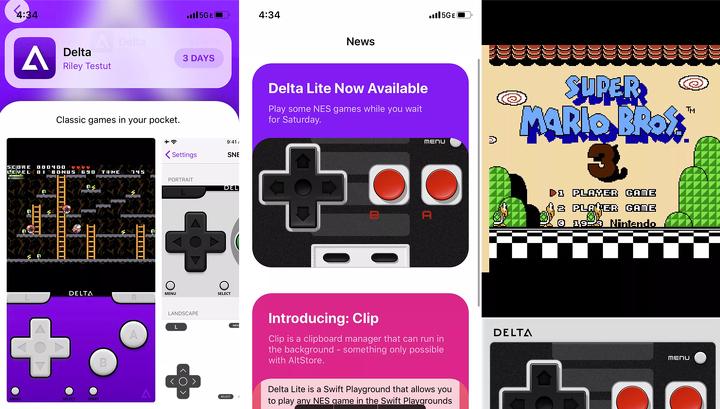 Meet AltStore, an alternative iOS App Store with Nintendo Emulator