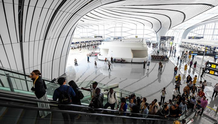 В Китае открыли самый большой в мире международный аэропорт Дасин
