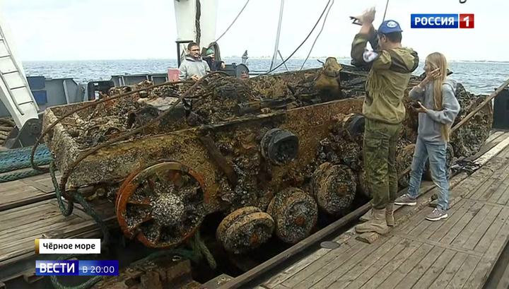 Ее место в музее: у берегов Крыма со дна подняли немецкую артустановку