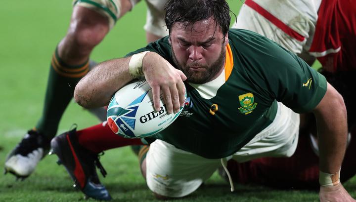 ЮАР вышла в плей-офф Кубка мира по регби