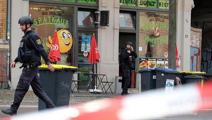 Стрелок из немецкого Галле едва не разнес кафе рядом с синагогой