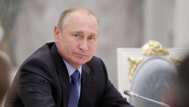 """Путин подчеркнул, что Россия """"никогда не дружит против кого-то"""""""