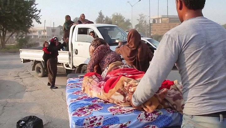В результате ударов Турции погибло 17 мирных сирийцев