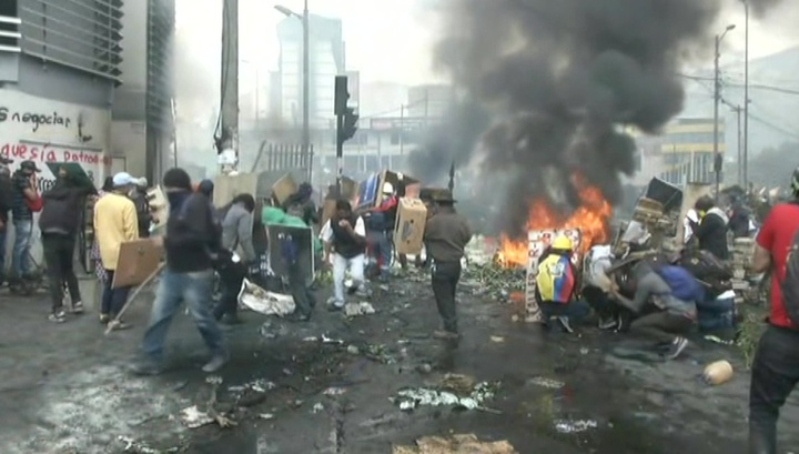 Лидеры протестов в Эквадоре согласились на переговоры с президентом