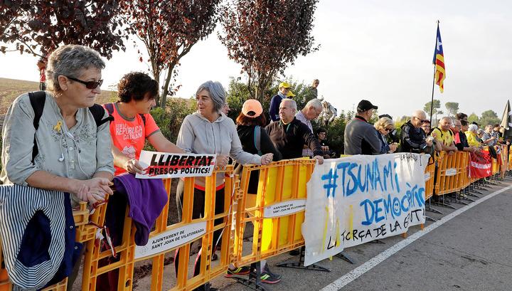 Каталонские политики-сепаратисты приговорены к срокам от 9 до 13 лет