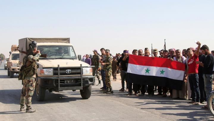 Американцы бросили еще две базы в Сирии. Город Манбидж перешел под контроль сирийской армии