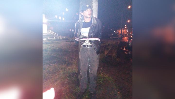Жители Архангельска устроили самосуд над предполагаемым маньяком. Видео