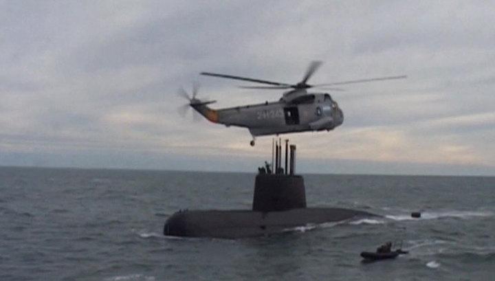 В аварии подлодки San Juan обвиняют троих аргентинских офицеров