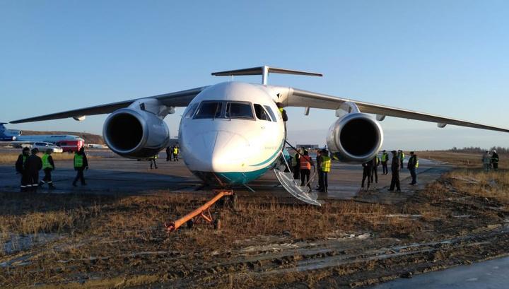 В Якутии самолет выкатился за пределы ВПП, жертв нет