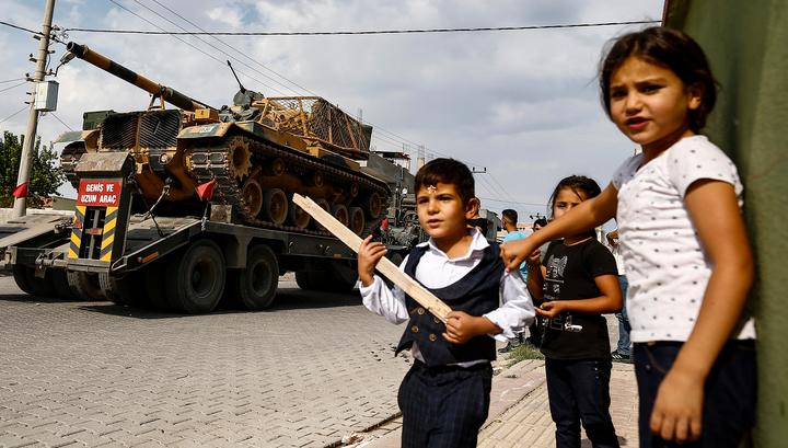 Район турецкой операции в Сирии будет патрулировать российская военная полиция