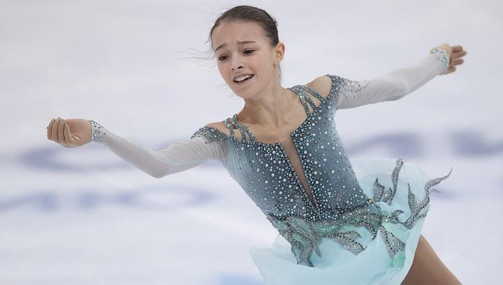 Россиянка Щербакова стала первой на этапе Гран-при в Китае