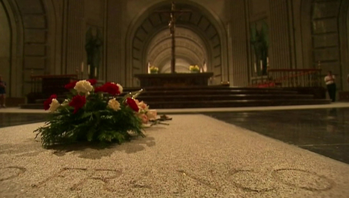 В Испании перезахоронят генерала Франко