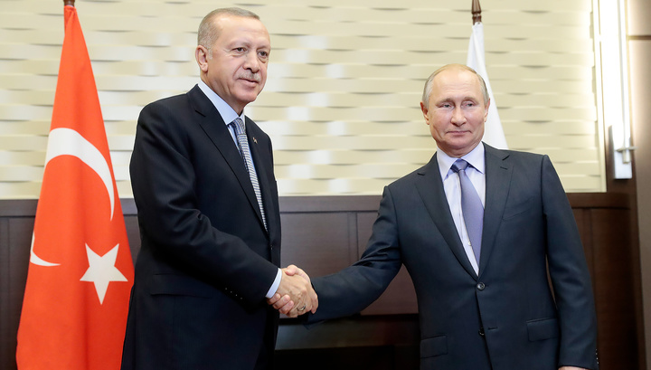 """""""Превосходное соглашение"""": мировая пресса обсуждает встречу Путина и Эрдогана"""
