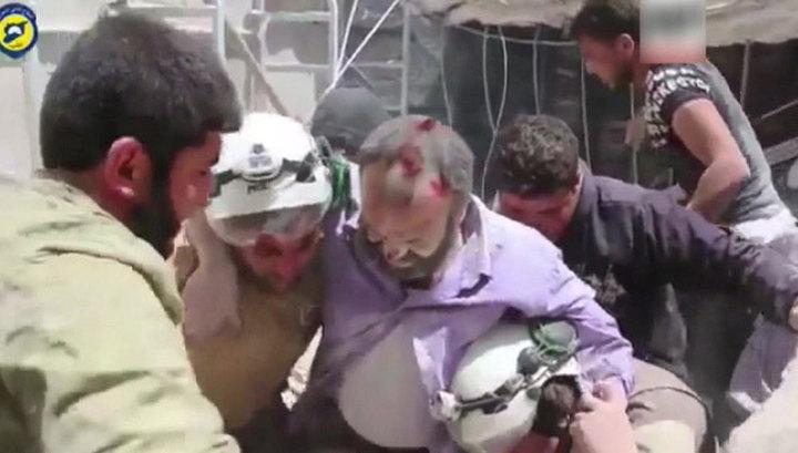 """США выделили $4,5 миллиона """"Белым каскам"""" в Сирии"""