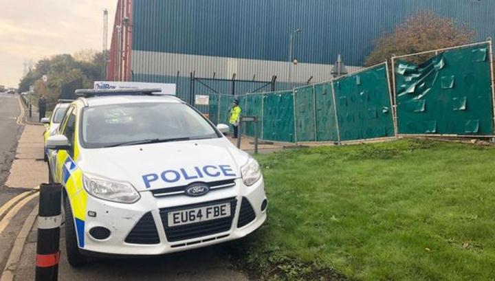 В Эссексе найден грузовик, в прицепе которого находились 39 тел