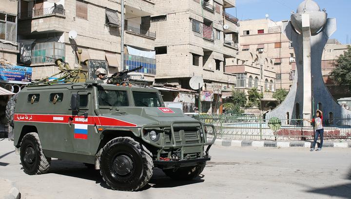 Российская военная полиция берет под контроль турецко-сирийскую границу