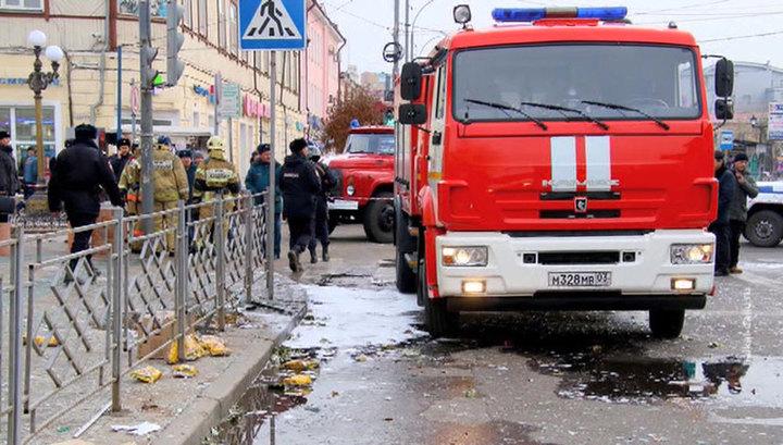 Число пострадавших при пожаре в кафе в Улан-Удэ возросло до 12 человек