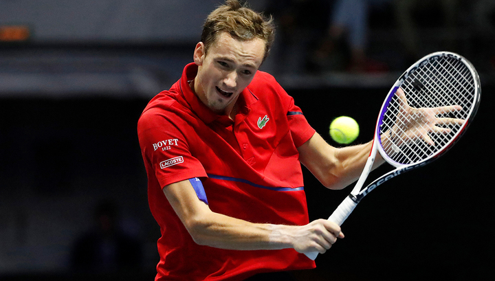 Даниил Медведев остался на четвертом месте в рейтинге АТР