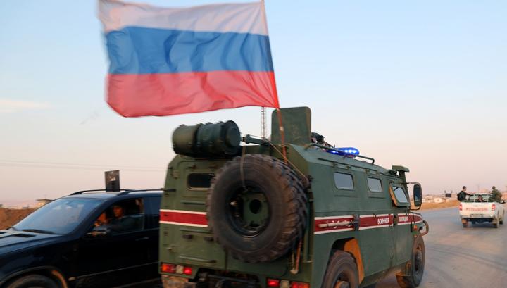В Сирии подорвался российский бронеавтомобиль. Есть пострадавшие