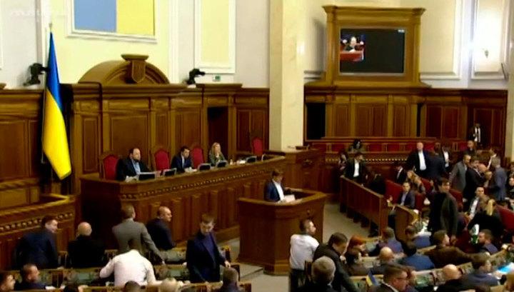 Депутат Рады расплакалась на заседании по обсуждению раздела ГТС Украины