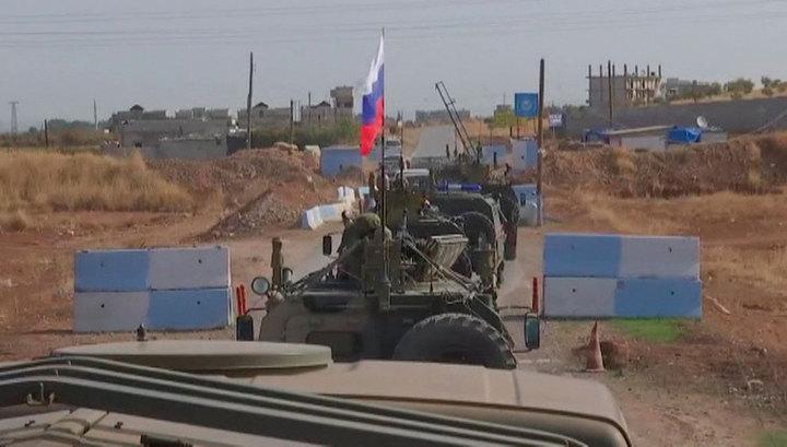Российские и турецкие военные проинспектировали северо-восток Сирии в 14-й раз