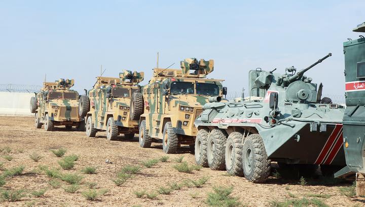 Третий патруль России и Турции заработал в Сирии