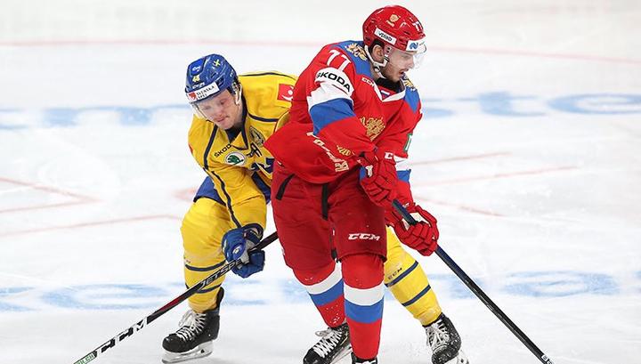 Хоккеисты сборной России обыграли шведов в Кубке Карьяла