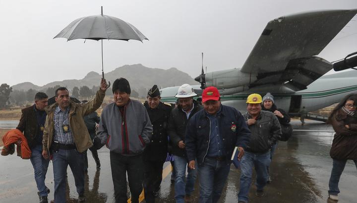 Президент Боливии объявил о своей отставке