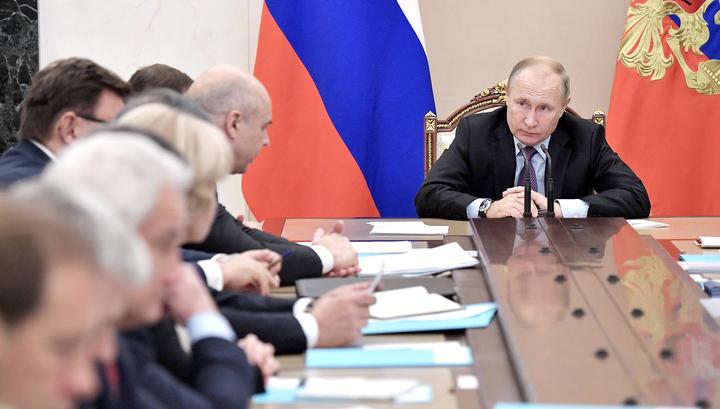 Прививка от гриппа правительству и другие нацпроекты: Путин поставил задачи развития России