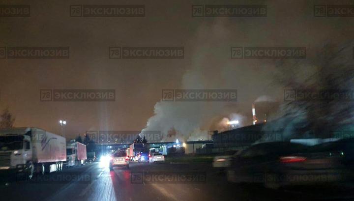"На пивзаводе ""Балтика"" в Петербурге взорвался паропровод"