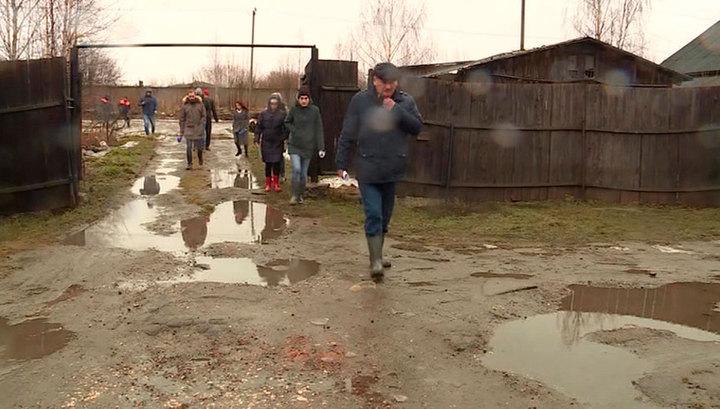 В Вологодской области эвакуированные из-за паводка жители вернулись в свои дома
