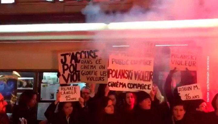 Активисты сорвали показ нового фильма Полански в Париже